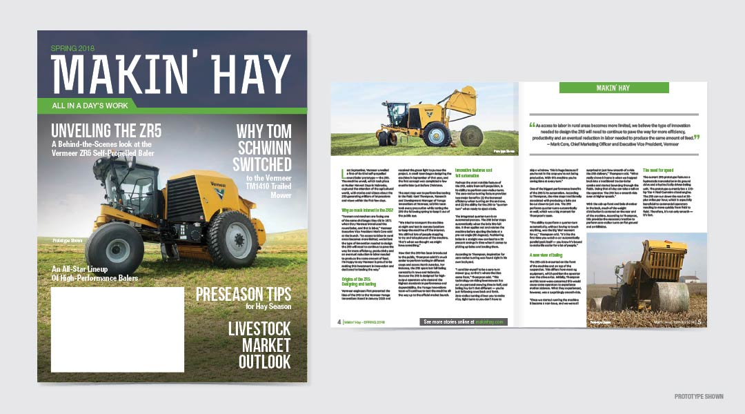 The hay baler product launch that will go down in history6